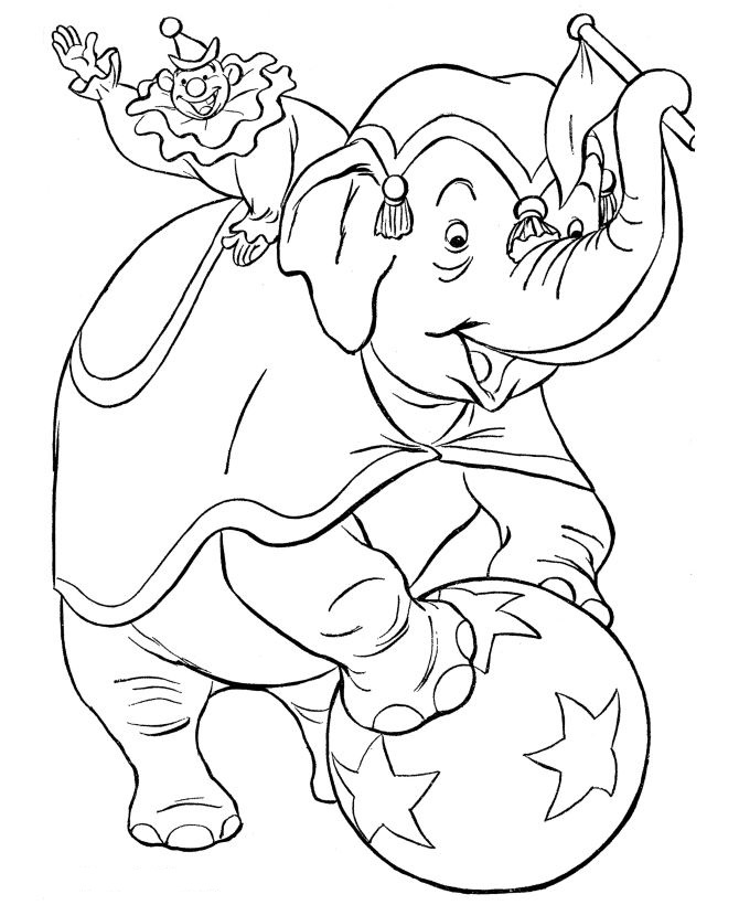 kids n fun com 39 coloring pages of circus