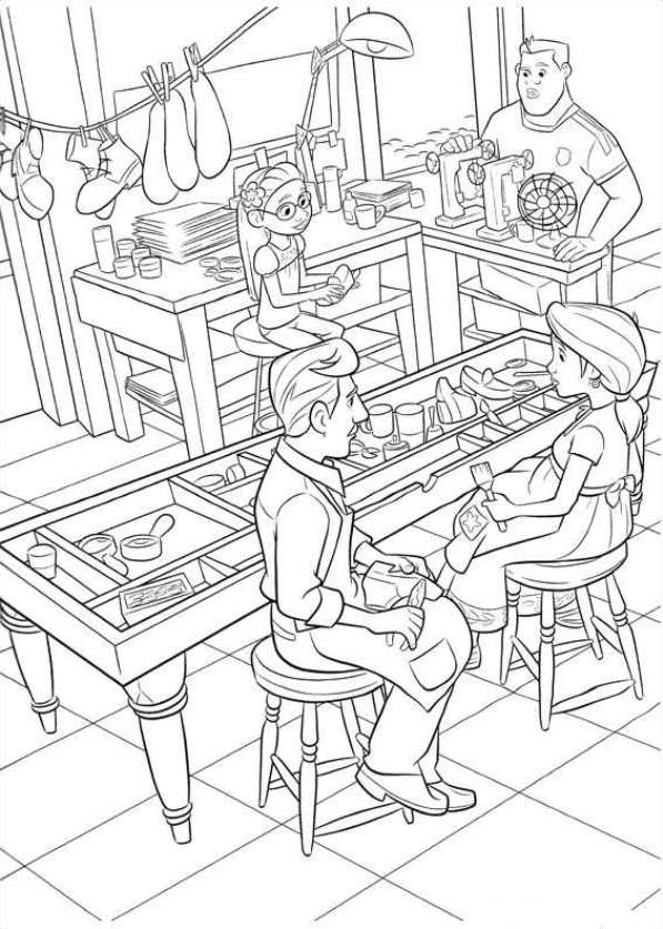 23 Coloring Pages Of Coco
