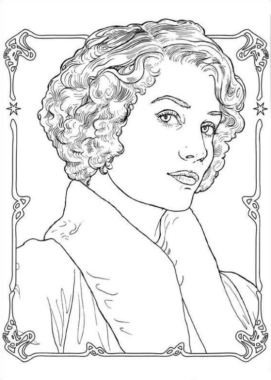 Coloring Page Fantastic Beasts And Where