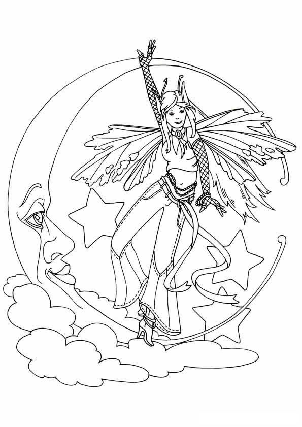 40 Coloring Pages Of Fairies