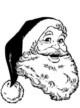 Kids N Fun Com 83 Coloring Pages Of Christmas Santa Claus