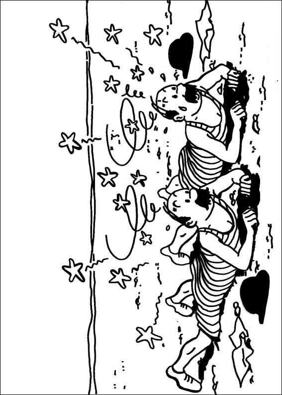 20 Coloring Pages Of Tintin