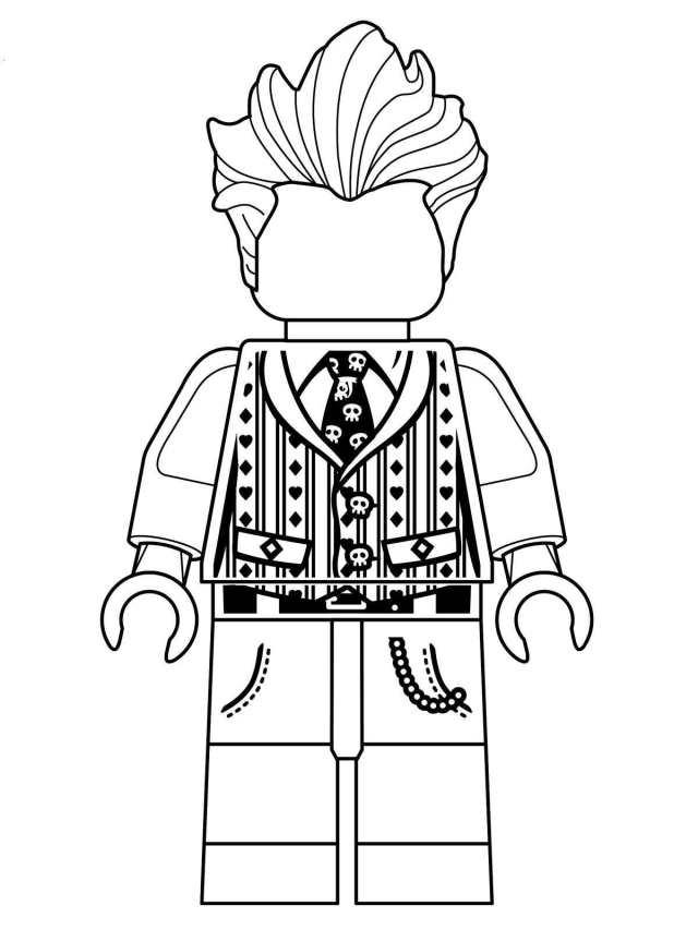 Kids-n-fun.com  Coloring page Lego Batman Movie joker