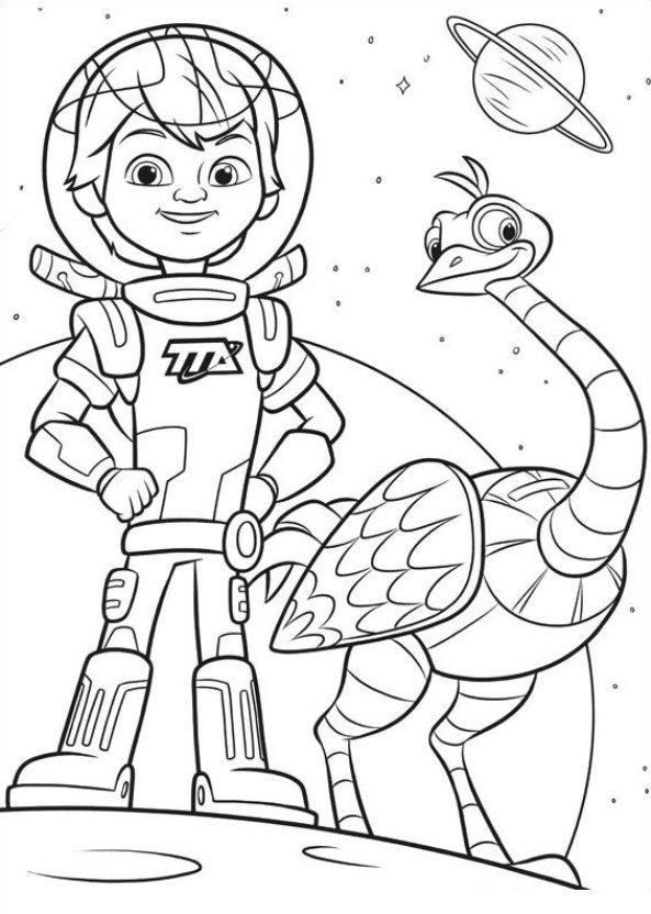 kids n fun com 21 pages of miles from tomorrowland