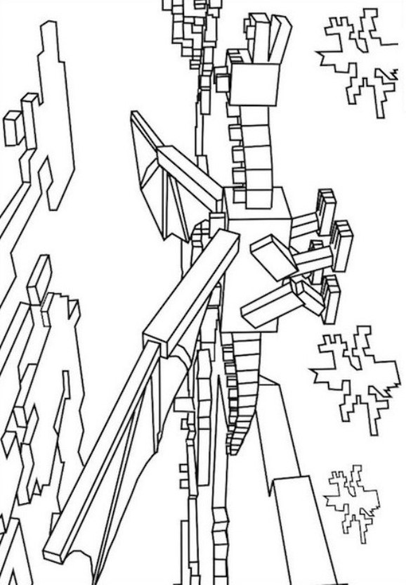 19 Coloring Pages Of Minecraft