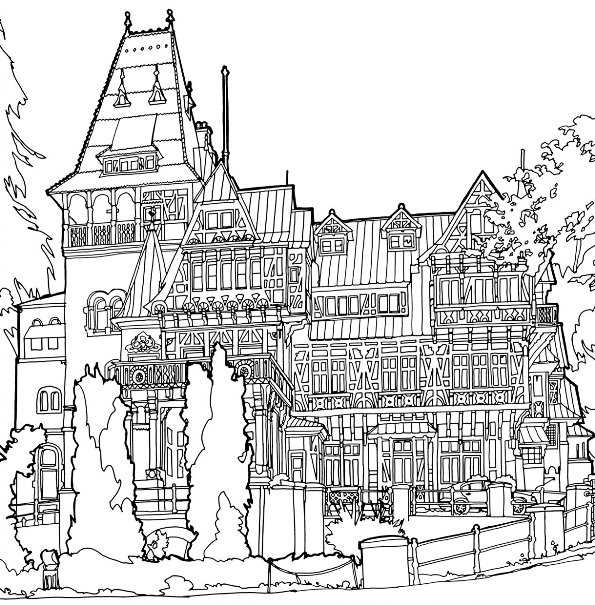 29 Coloring Pages Of Cities