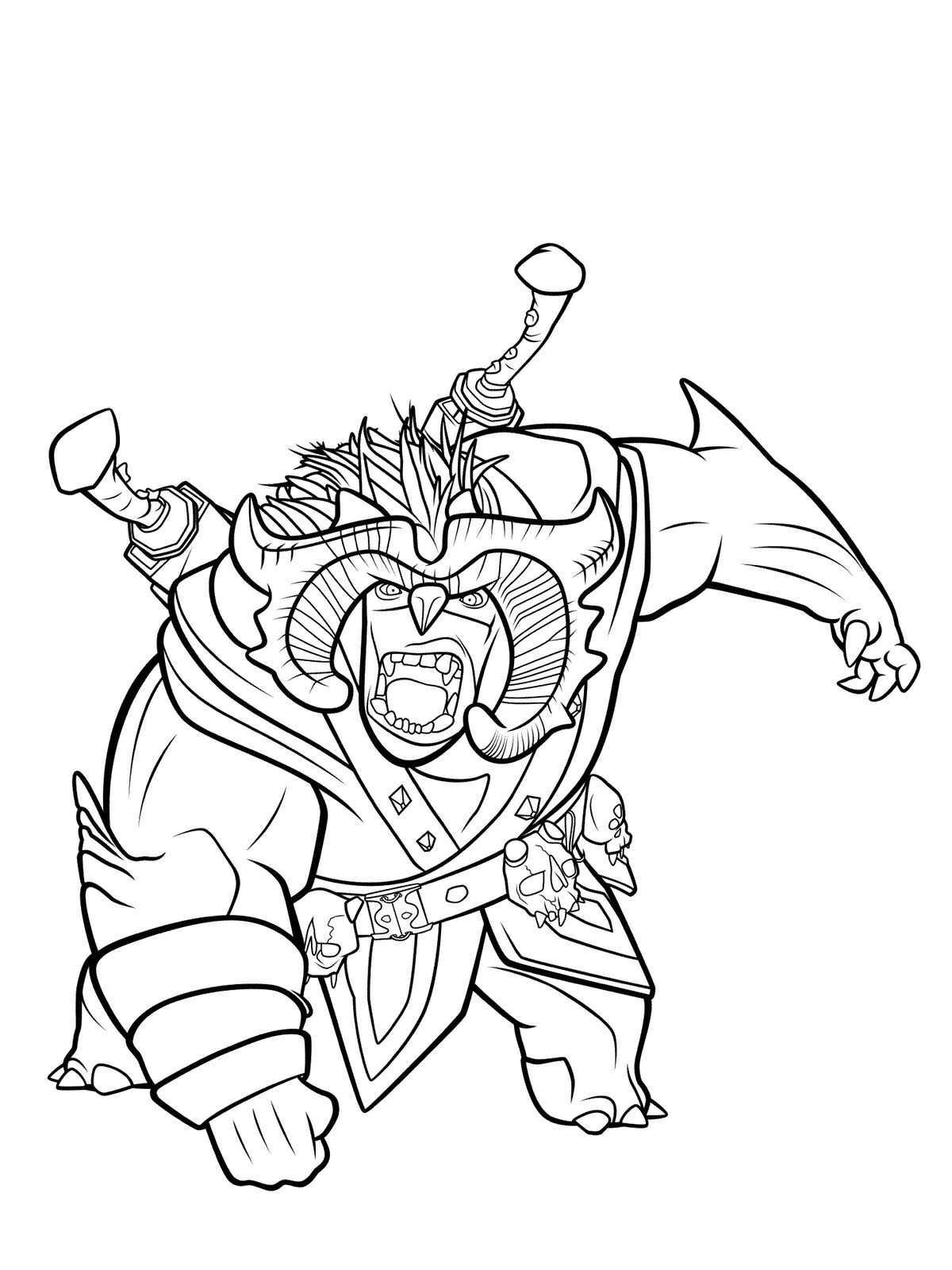 10 Coloring Pages Of Trollhunters