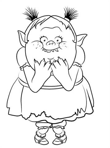 Kids N Fun Com 26 Coloring Pages Of Trolls
