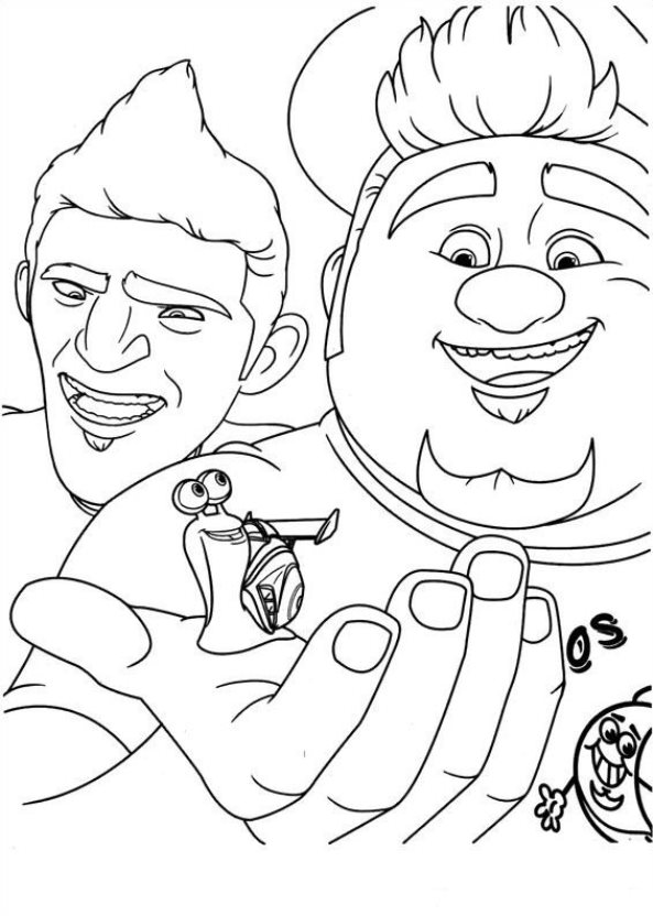kidsnfun  44 coloring pages of turbo (pixar)