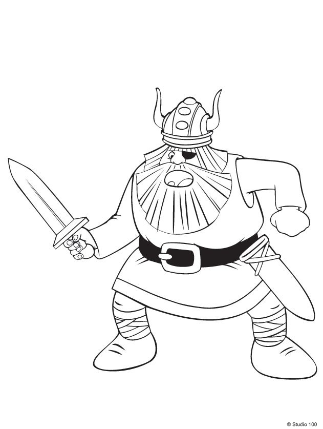 36 Coloring Pages Of Wicky The Viking