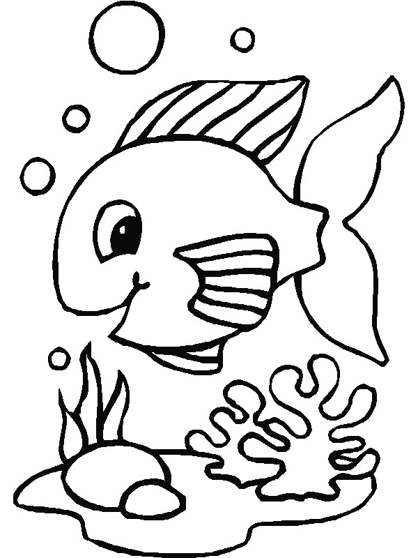 kids n fun com 41 coloring pages of fish
