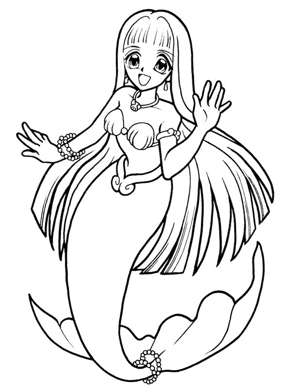 kidsnfun  29 coloring pages of mermaid