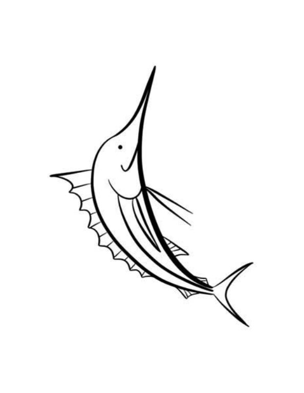 kids n fun com 9 coloring pages of swordfish