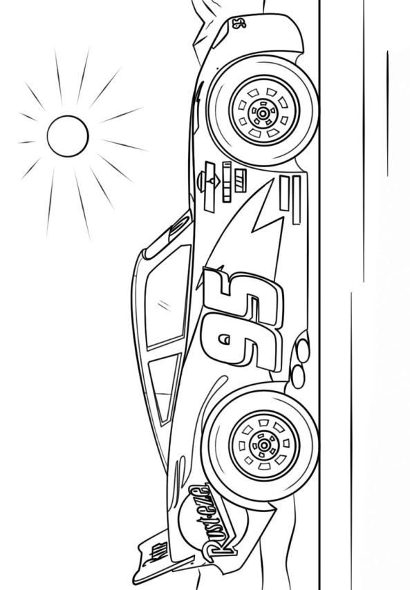 Lightning Mcqueen Kleurplaten.Lightning Mcqueen Colouring Picture Free Coloring Pages Globalchin