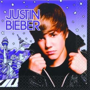 Justin Bieber - Servietten