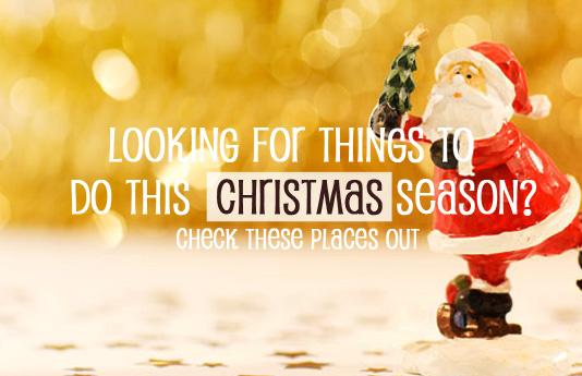 Christmas Season Things to Do with Kids 2014