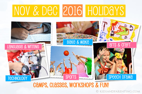 December and November Holiday Programs and Camps