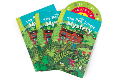 Resultado de imagen de the red jungle mystery kids&us