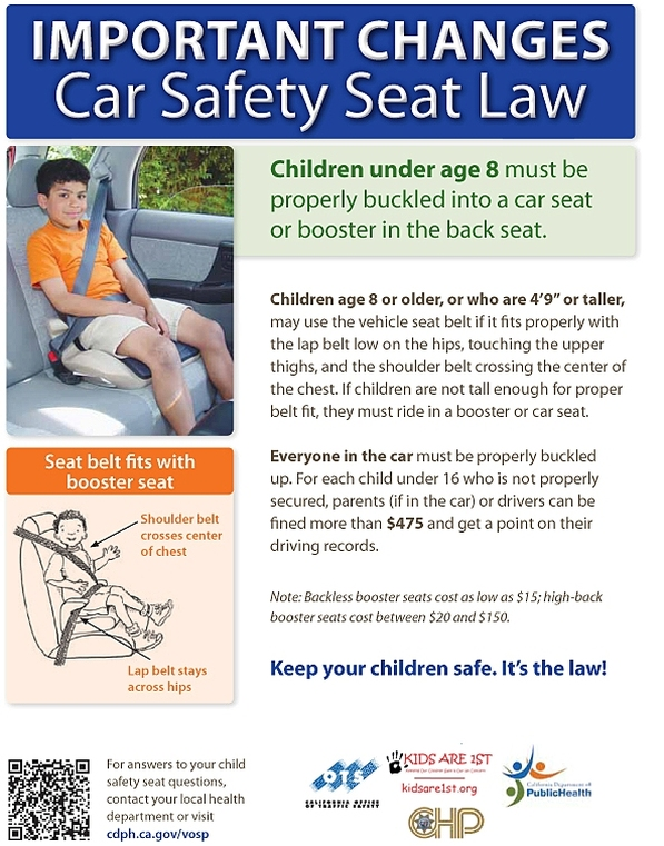 Car Seat Booster Requirements California Brokeasshome Com