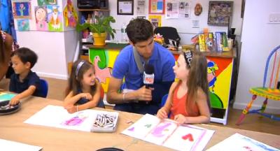 Ben Aaron at Kids at Art
