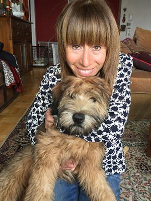 Wendy Miller lives in Manhattan with her puppy, Murray