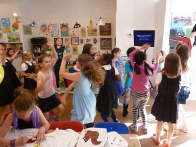 Disco party for kids in NYC