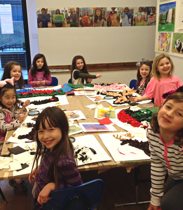 Art Class at Kids at Art on the Upper East Side
