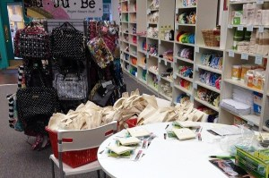 Inside the Happy Baby store.