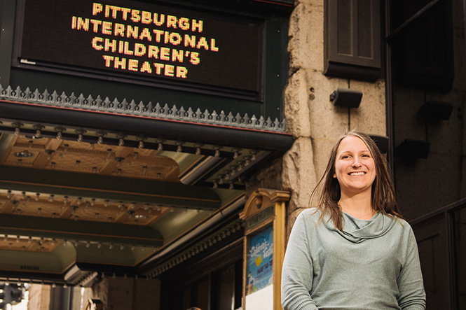 Pam Lieberman of the Pittsburgh International Children's Theater and Festival