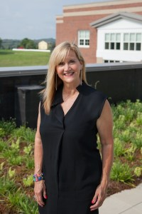 Aileen Owens of South Fayette has discovered new collaborations with local school districts. Photo by Peter Leeman.