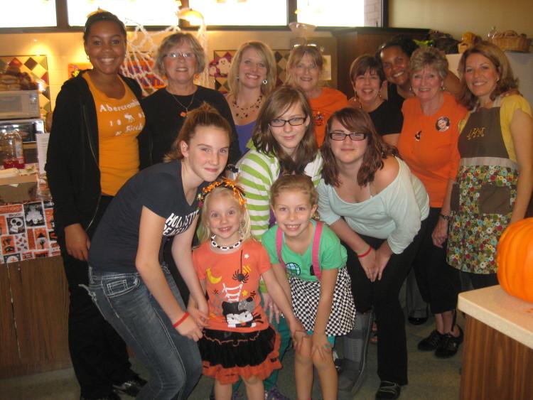 Family Volunteering at the Ronald McDonald House, Photo courtesy of RMHC