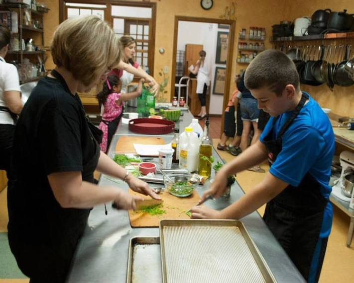 Cooking with Kids at Crate, Photo courtesy of Crate Kitchenware and Cooking School
