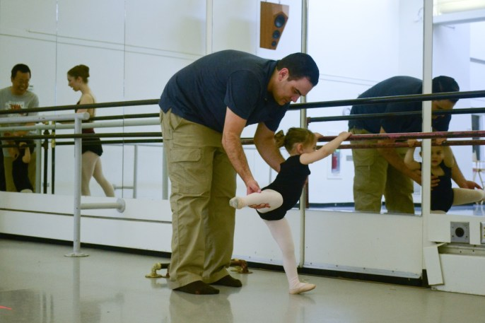 My Grownup and Me Ballet Class, Photo courtesy of the Pittsburgh Ballet Theatre