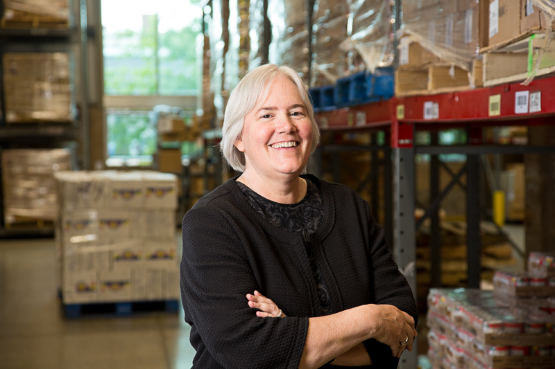 Lisa Scales, CEO of Greater Pittsburgh Community Food Bank, Photo courtesy of Greater Pittsburgh Community Food Bank