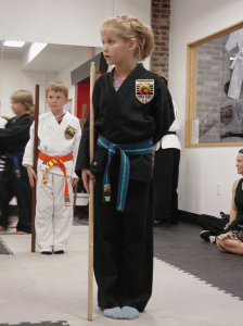 Shaolin Studios classes help kids to focus and control their bodies. Image courtesy of Shaolin Studios.