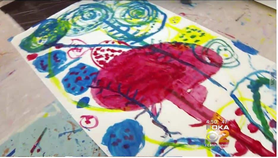 Artist and author Hervé Tullet creates with kids at Children's Museum of Pittsburgh
