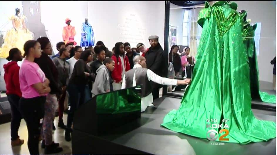 Local students inspired by costumes of The Wiz! Live