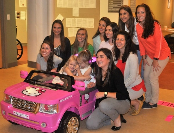 Go Baby Go allows mobility-challenged tots to get in on the fun