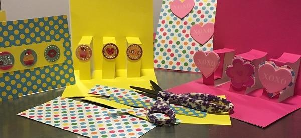 pop-up Valentine