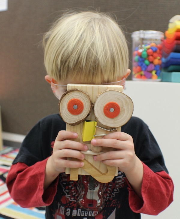 Maker Monday: Funny Faces in Woodworking
