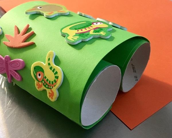 Maker Monday: Cardboard Tube Binoculars