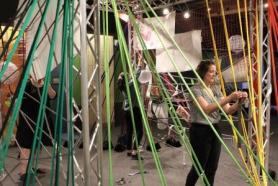Play hard, kids! This 'Tough Art' exhibit can take it