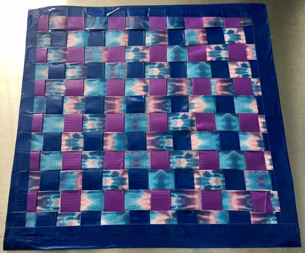 Maker Monday: Duct Tape Placemat