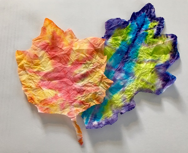 Maker Monday: Coffee Filter Leaves