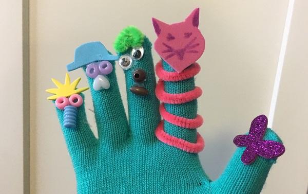 Maker Monday: Glove Puppets
