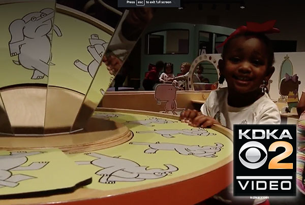 Mo Willems exhibit opens at Children's Museum