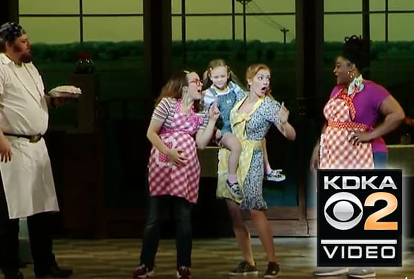 Two local girls step into Broadway touring show in Pittsburgh