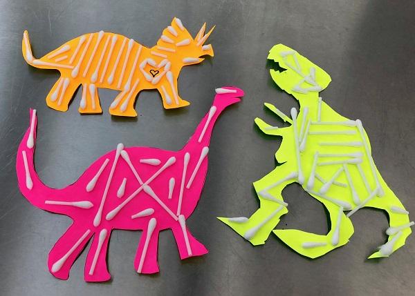 Maker Monday: Dino Skeletons