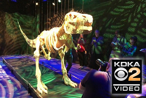 Carnegie Science Center throws LEGO block party with mind-blowing exhibit