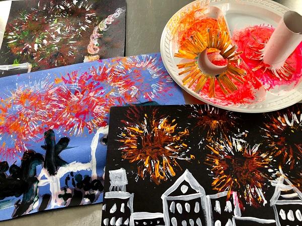 Maker Monday: Summer Fireworks